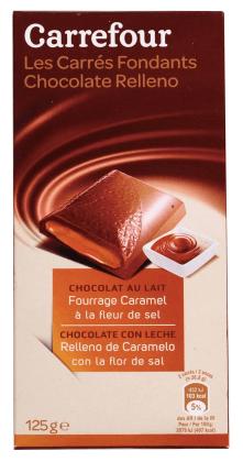 家樂福 焦糖夾心牛奶巧克力