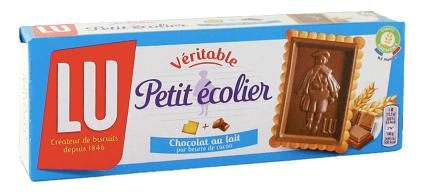 法國LU小王子牛奶巧覆蓋餅