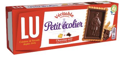 法國LU小王子黑巧覆蓋餅
