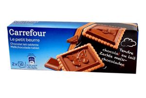 家樂福小精靈牛奶巧克力奶油餅乾